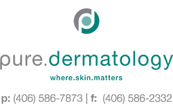 Pure Dermatology.  Southwest Montana's premiere dermatology practice, offering comprehensive medical, surgical and aesthetic care of the skin.  Botox. CoolSculpting. Laser Treatments. Dermal Fillers. Vein Treatments.