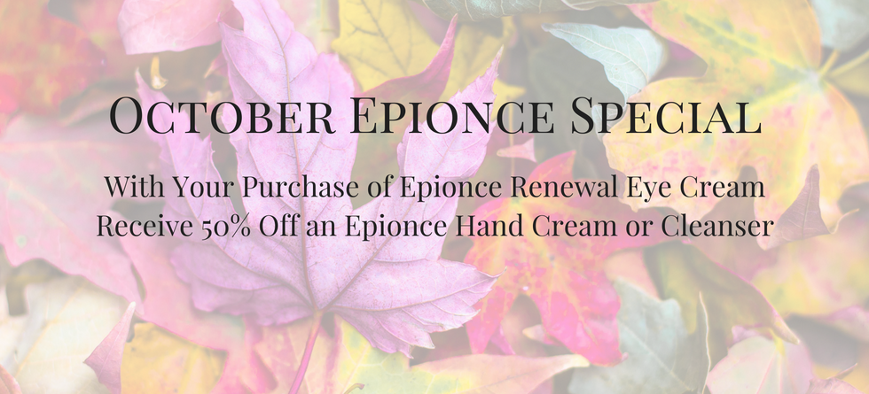 October Epionce Special